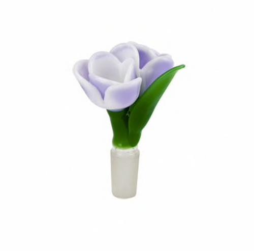 Tulip Double Bowl Piece 14mm