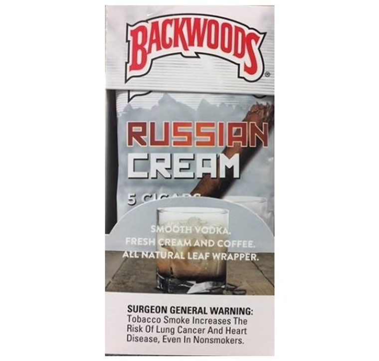Backwoods Russian Cream 5 Pack