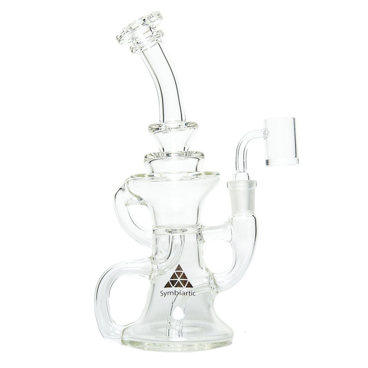 Symbartic Glass Crescent Recycler