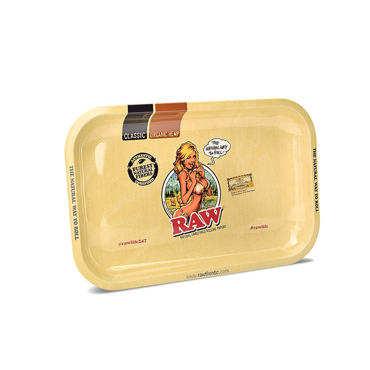 RAW Girl Rolling Tray - Small