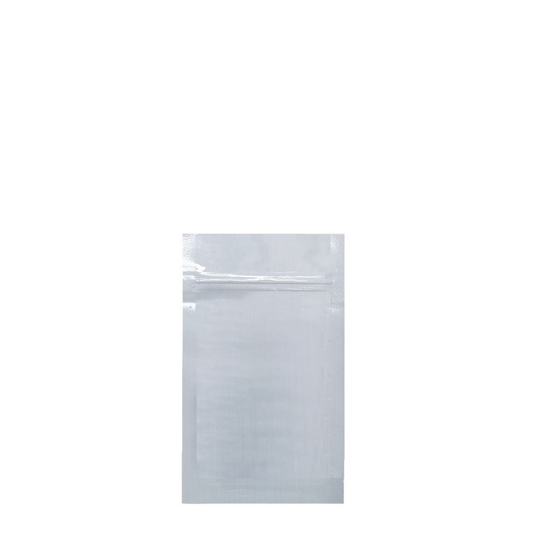Mylar Bag 1/8 White/Clear