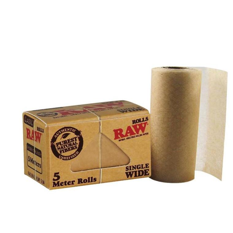Raw Unrefined Single Wide Rolls