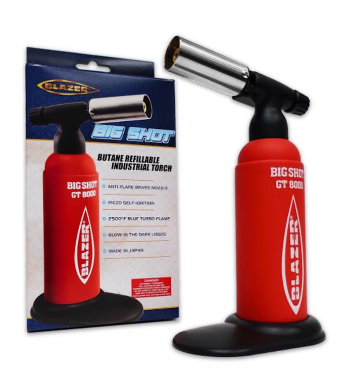 Blazer Big Shot Torch - Red