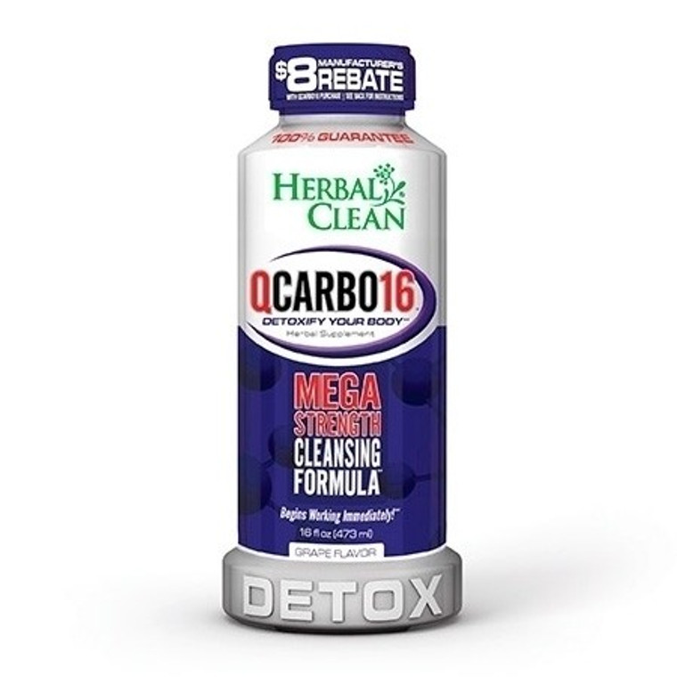 QCarbo 16oz Grape Detox