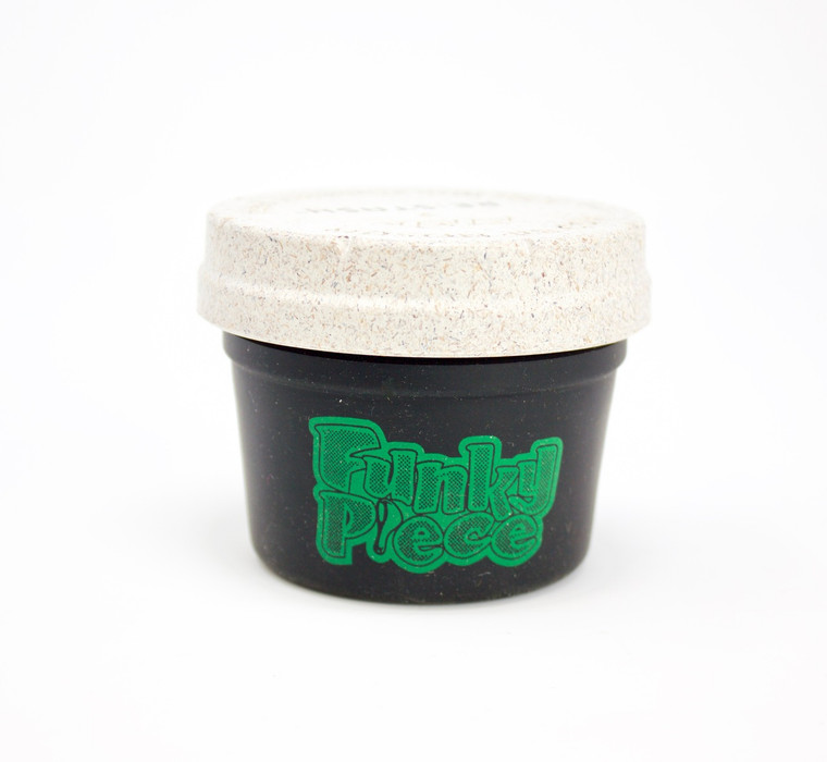 4oz Black FunkyPiece Re:Stash Jar