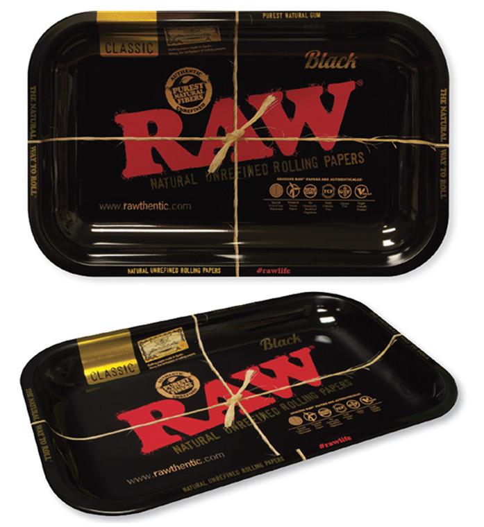 Raw Black Rolling Tray - Small