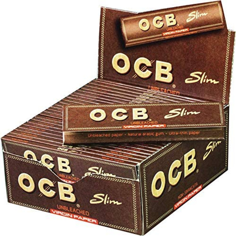 OCB Virgin 1-1/4 Rolling Papers w/Tips