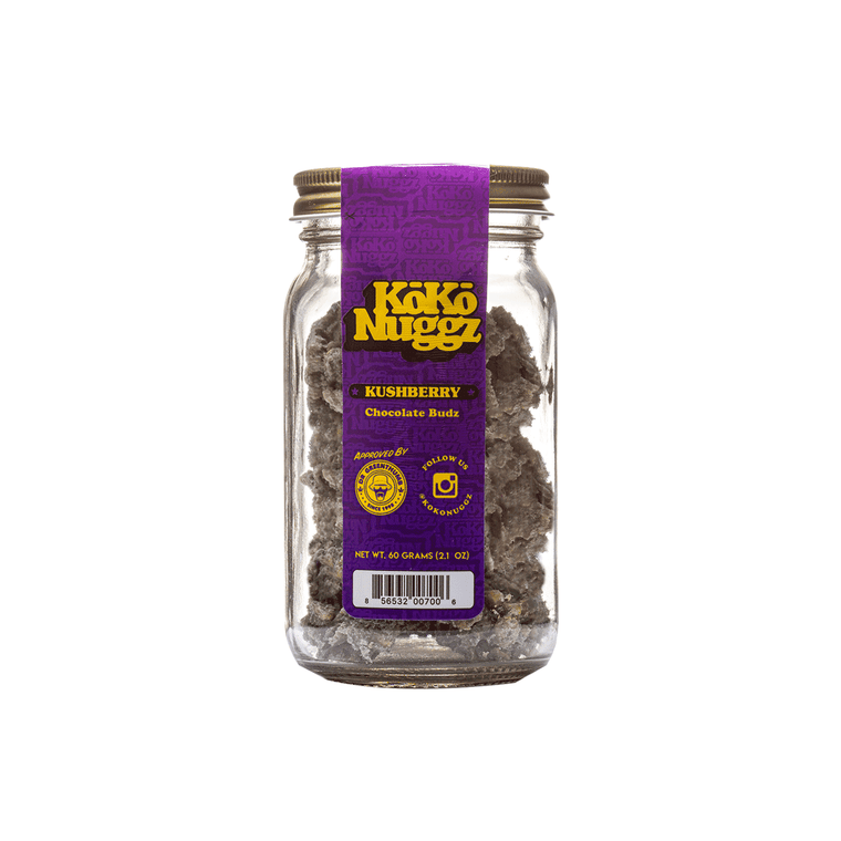 KoKo Nuggz Kush Berry 2.1oz Jar