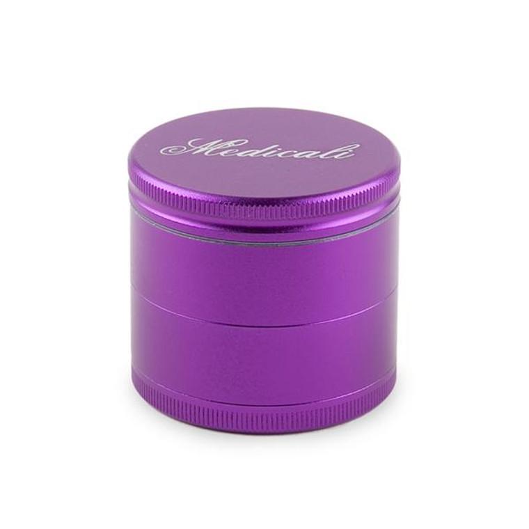 Medicali Purple 4 Piece Medium Grinder
