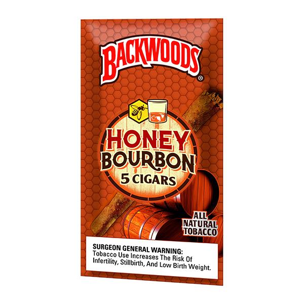 Backwoods Honey Bourbon 5 Pack