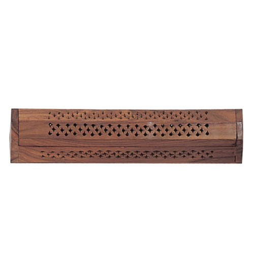 Carved Incense Coffin Box