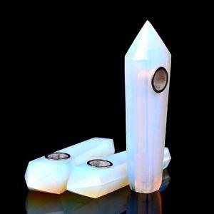 Crystal Pipe - Opal
