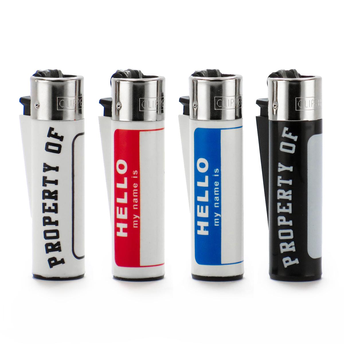 Write-On Clipper Lighter