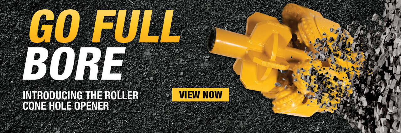 Vermeer introduces a new lineup of roller cone hole openers to the ever growing line of rock tooling. View now.