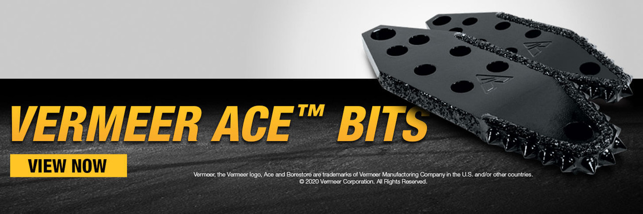 Vermeer Ace™ Bits are available for purchasing on borestore.com. Shop now.