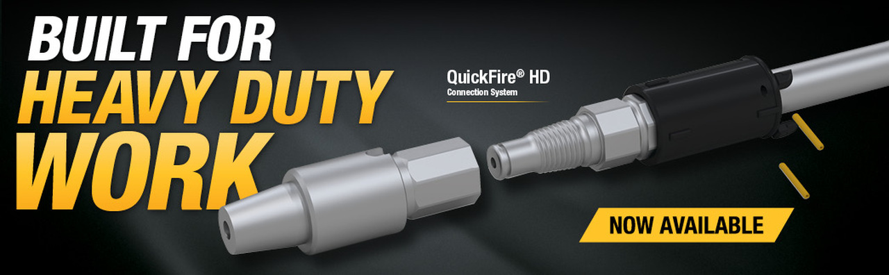 QuickFire® HD Connection System is now available for purchase on borestore.com.