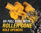 Introducing the Vermeer lineup of roller cone hole openers