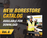 Volume 8 of the BORESTORE® HDD tooling and accessories catalog is now available