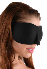 Frisky Deluxe Black Out Blindfold (AD310)