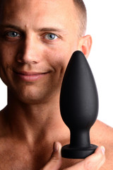 Colossus XXL Silicone Anal Suction Cup Plug (AD398)