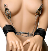 Cuff to Clamps Bondage Kit (AD641)