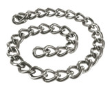 Use the Linkage 12 Inch Steel Chain for attaching ball or nipple weights