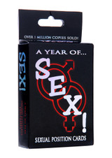 A Year of Sex! Sexual Position Card Game (AD910)