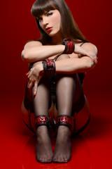 Crimson Tied Wrist and Ankle Bondage Kit (AE341)