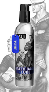 Tom of Finland Water Based Lube- 8 oz (TF4779)