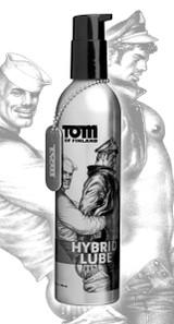 Tom of Finland Hybrid Lube- 8 oz (TF4781)