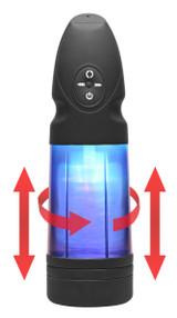 Strobe Multi Function Rechargeable Stroker (AE393)