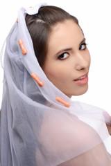 Bachelorette Party Penis Bridal Veil (AD720)