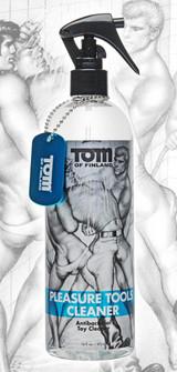 Tom of Finland Pleasure Tools Cleaner- 16oz (TF4196)