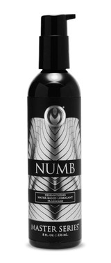 Numb Desensitizing Water Based Lubricant with 5-Percent Lidocaine - 8 oz (AE752)