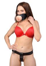 Pussy Face Female Orgasm Denial Chastity Kit (AF470)