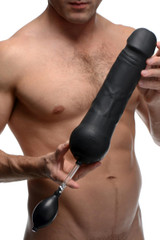 Tom of Finland Toms Inflatable Silicone Dildo (TF1791)