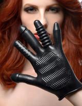 Pleasure Poker Textured Glove (AF582)