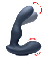 7X P-Stroke Silicone Prostate Stimulator with Stroking Shaft (AG149)