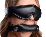 Padded Blindfold and Gag Set (AG120)