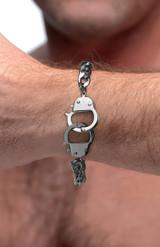 Cuff Him Handcuff Bracelet (AG217)