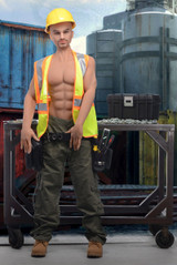 Builder Brett Adult Doll (AG369)