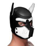 Spike Neoprene Puppy Hood - White (AG292-White)