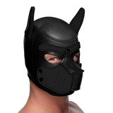 Spike Neoprene Puppy Hood - Black (AG292-Black)