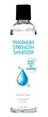 Anti-Bacterial Maximum Strength Hand Sanitizer - 8oz (AG501)