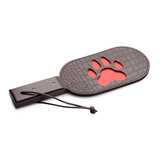 Puppy Paw Leather Paddle (AG283)