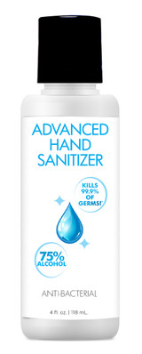 Advanced Hand Sanitizer - 4 oz (AG536-4oz)