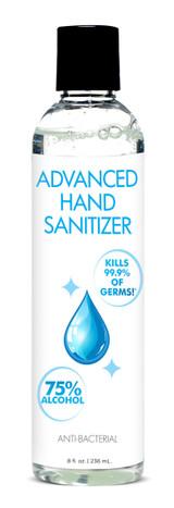 Advanced Hand Sanitizer - 8 oz (AG536-8oz)