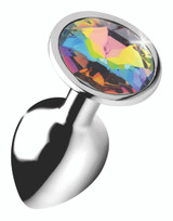 Rainbow Prism Gem Anal Plug - Small (AG375-Small)