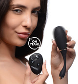 Voice Activated 10X Vibrating Egg with Remote Control (AG394)