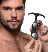 Premium Silicone Weighted Prostate Plug - Small